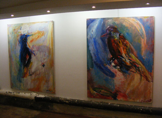 Khamis' Paintings in the BIHP exposition