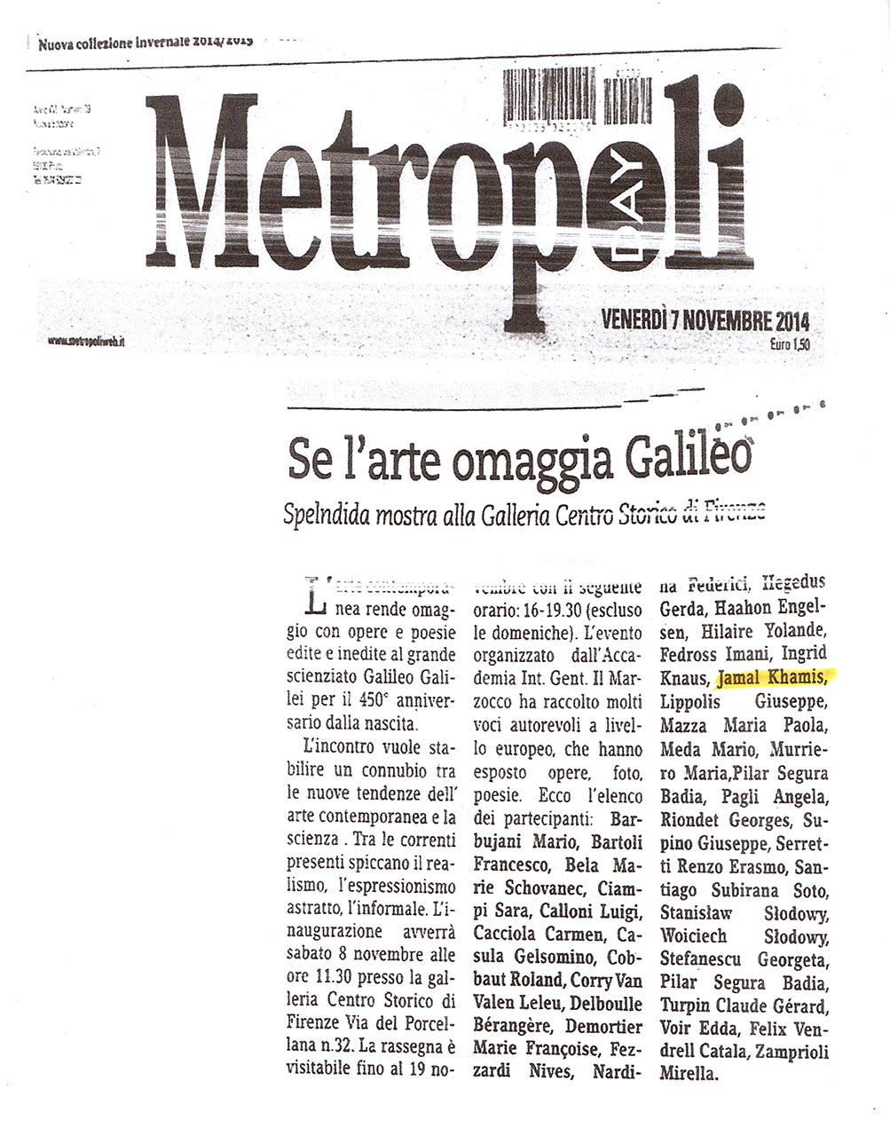 Metropoli - Se l'arte omaggia Galileo.jpg