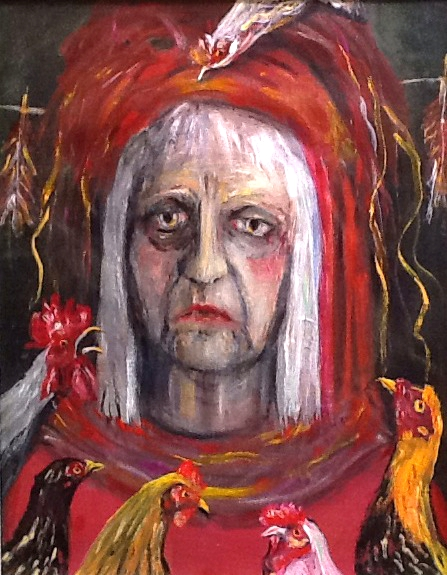 Self portrait as Papagena