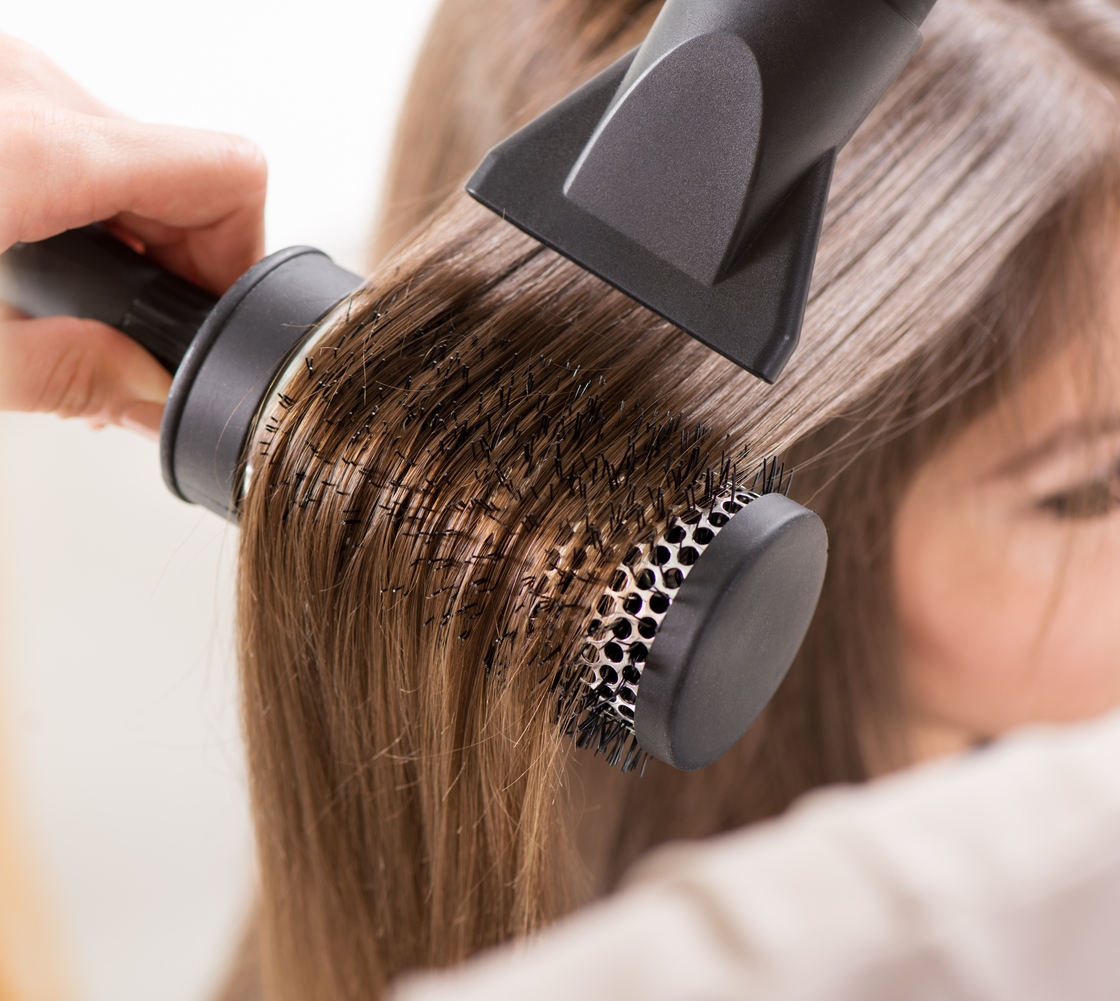 WASH & BLOW-DRY HAIR STYLE