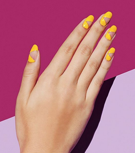 Walk on sunshine with this fun and artsy design.
