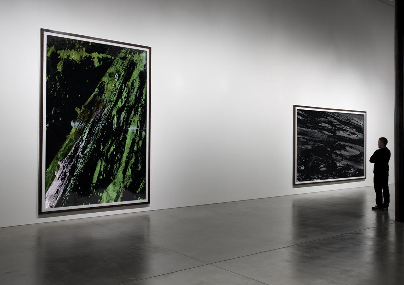 Matière II  - Watercolours - 2014 - Screen prints on fabric
