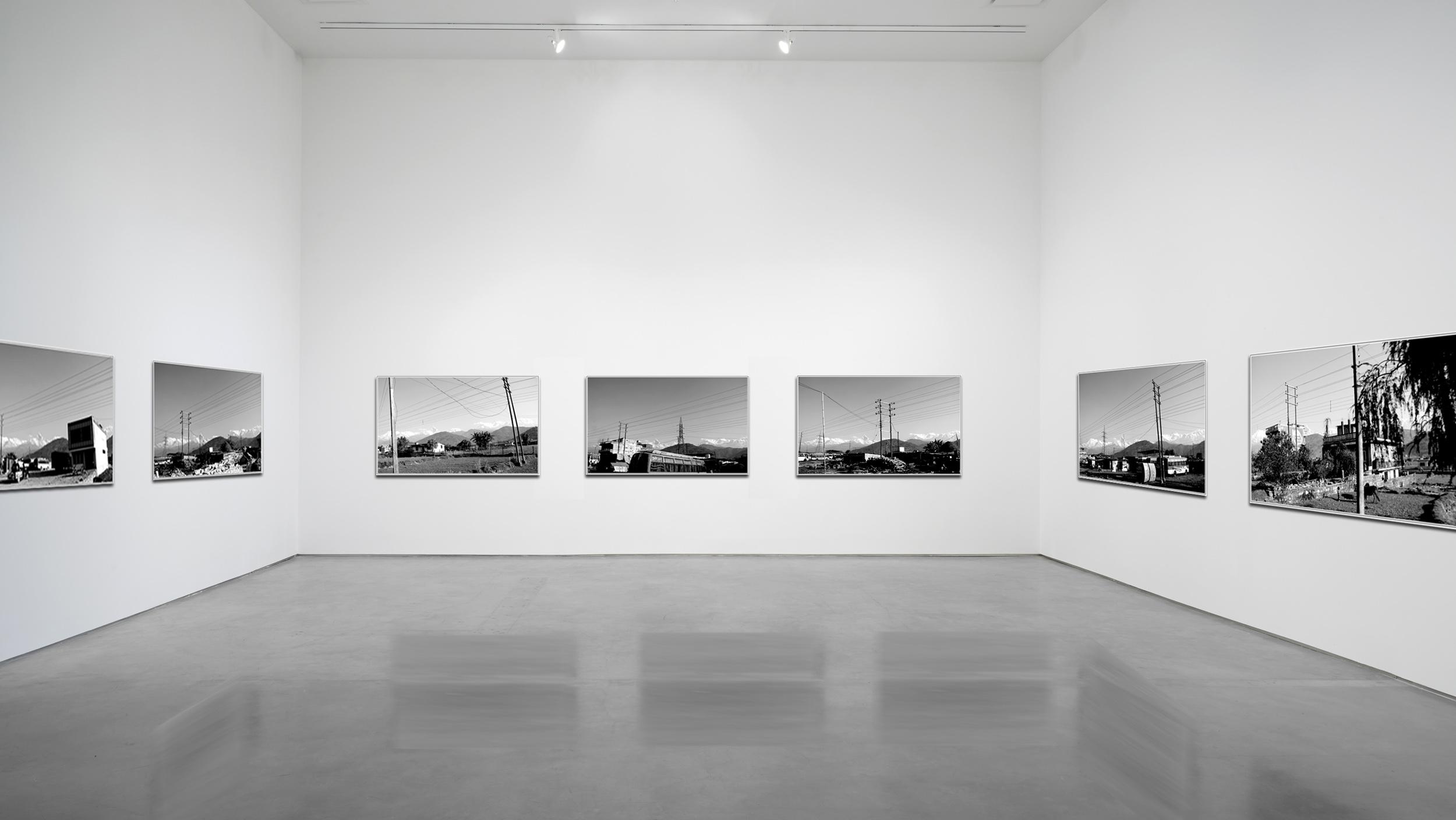 Bus flux -  Nagarkot -  2012 - Photography - 60 x 40 cm