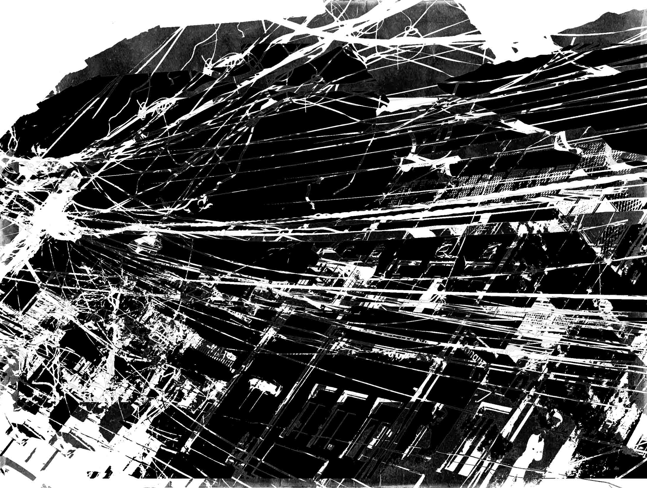 Connection I - Delhi - 2011 - Screen print on paper - 80 x 40 cm  - Edition of 01