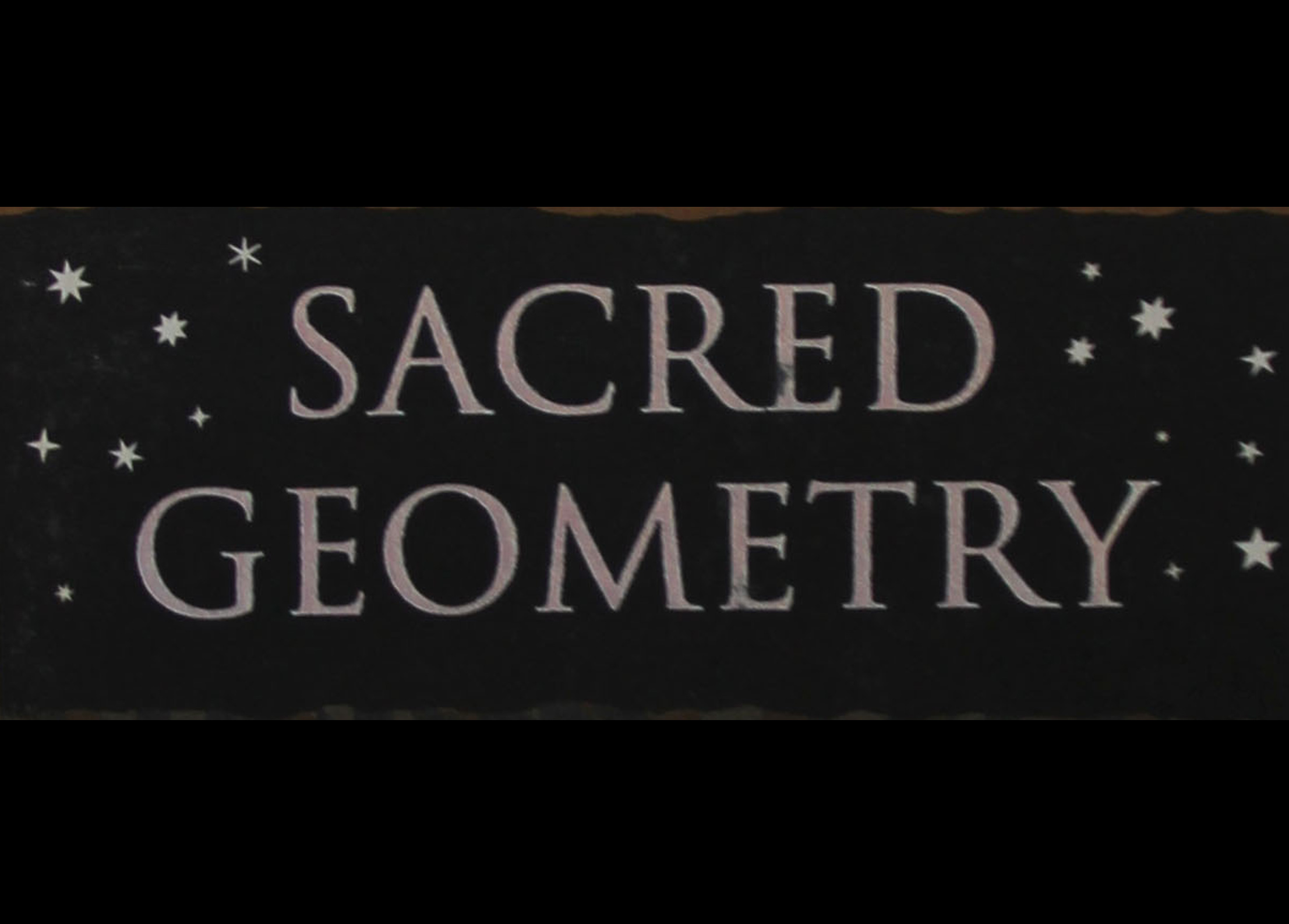 Excerpt from 'Sacred geometry', Miranda Lundy