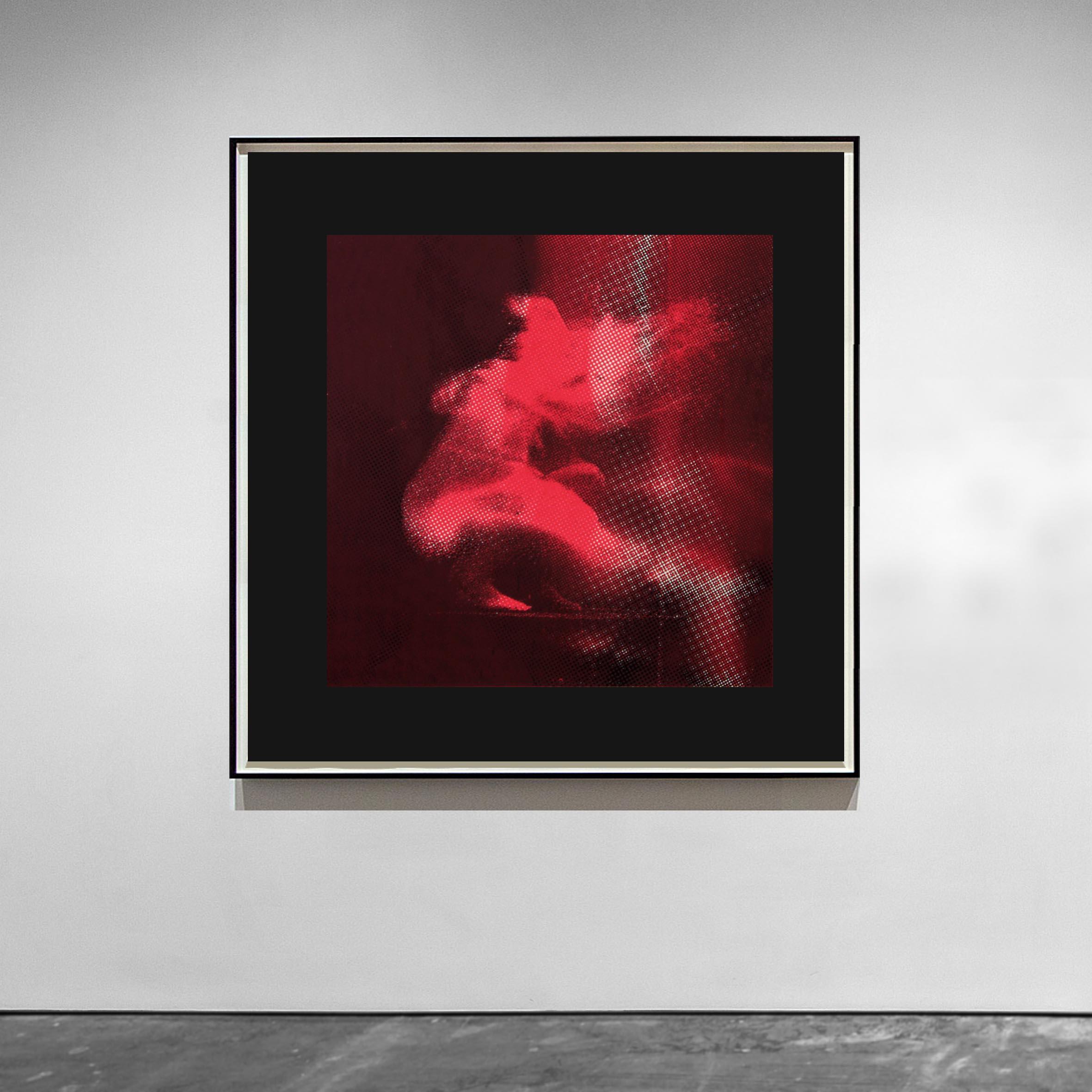 Aura  I - 2014 - Screen print on paper - 30 x 30 cm  - Edition of 01