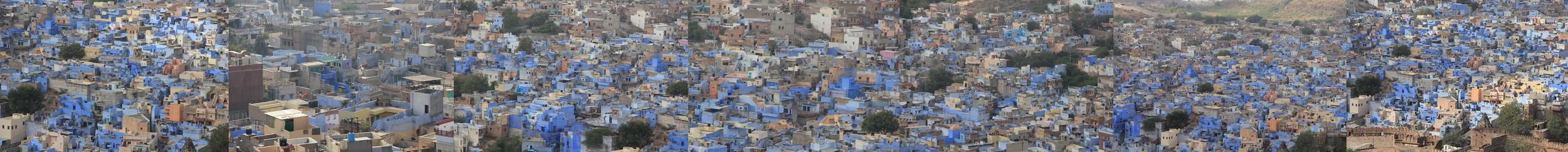 Raw data Blue city