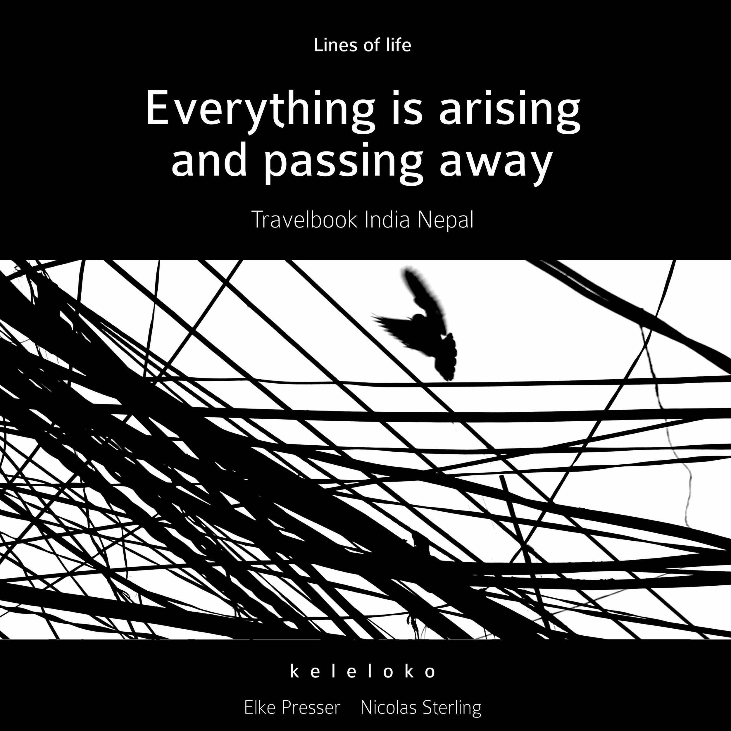 Lines of life - EVERYTHING IS ARISING AND PASSING AWAY - by k e l e l o k o