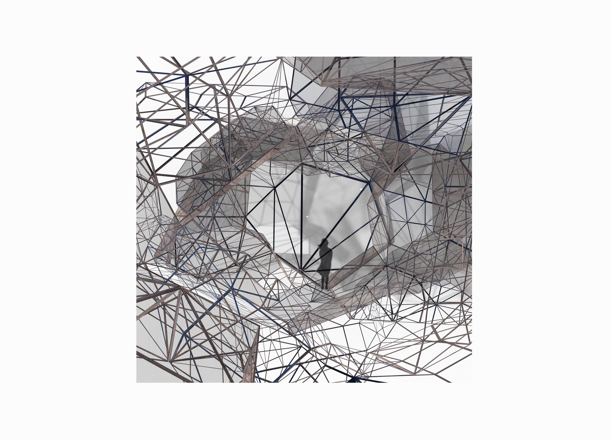 Future living - 2017 - Digital collage - 70 x 70cm