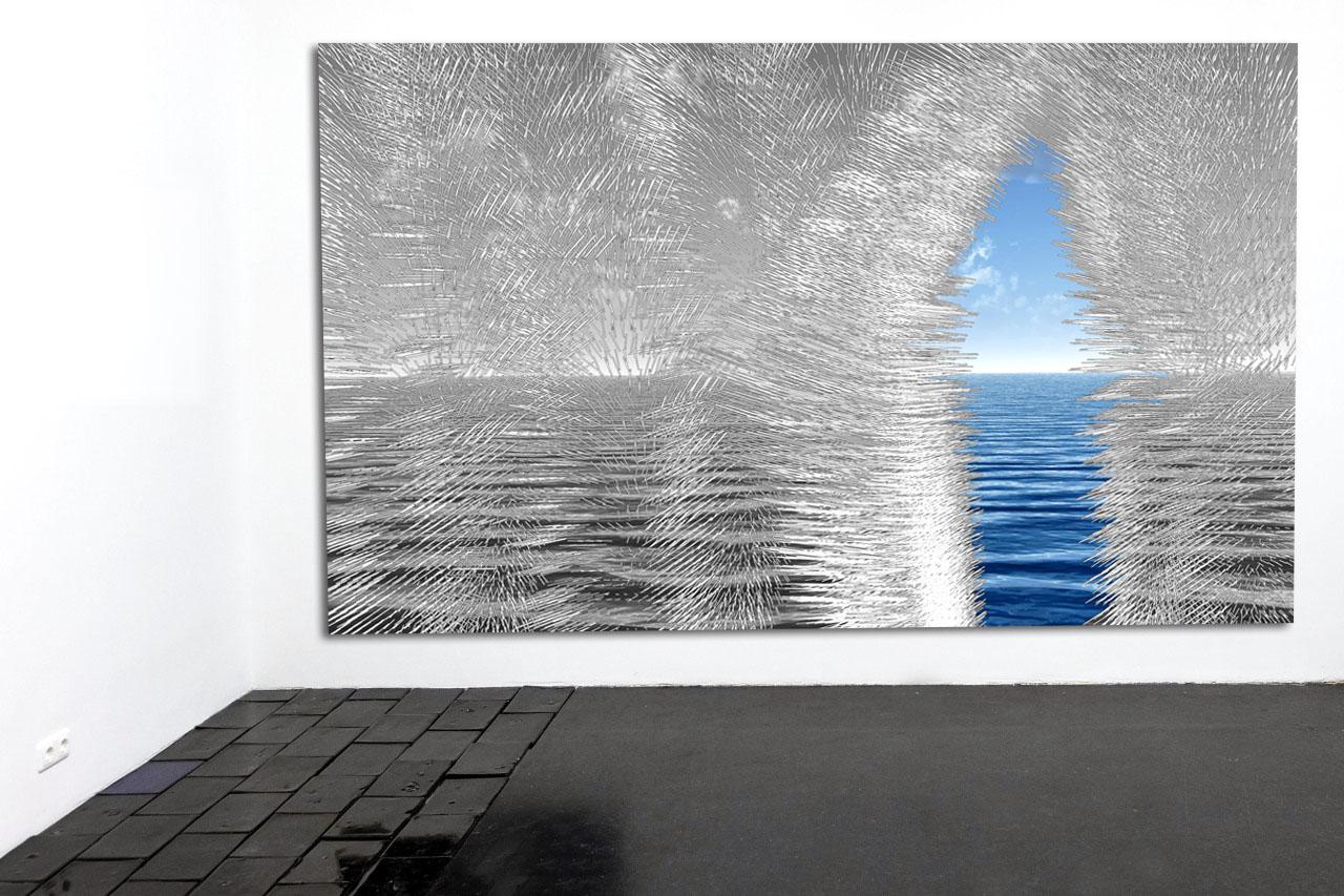 The Gateway - 2018 - Digital drawing/ Photography - 300 x 200 cm