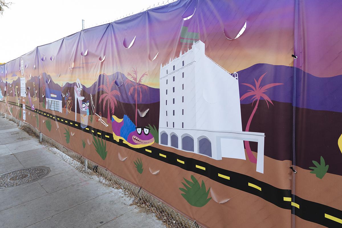 YoMeryl Mural Emser Tile Detail