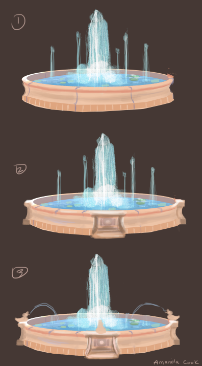 Fountain Concept Art