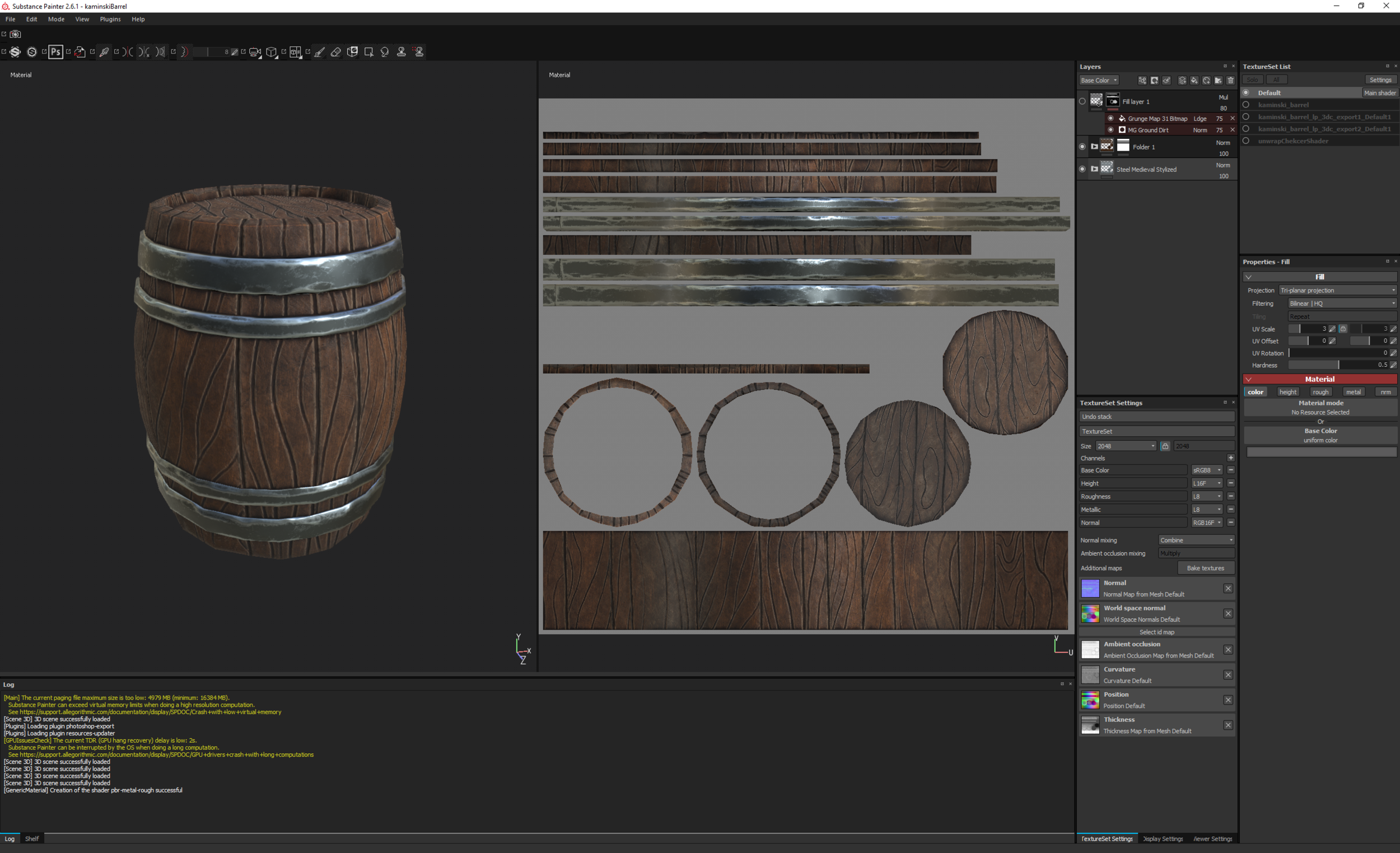 Substance Painter Setup