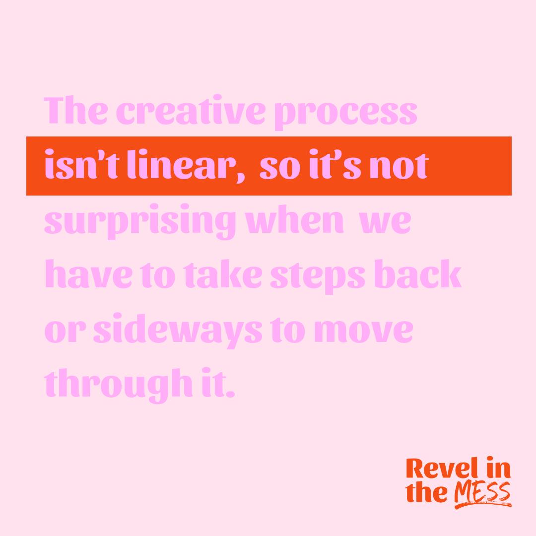 creative process creativity tips london ontario st. thomas ontario revel in the mess.png