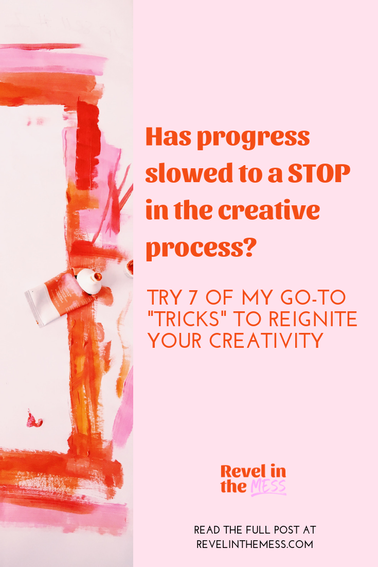 creativity tips when progress feels slow creative entrepreneur how to get unstuck.png