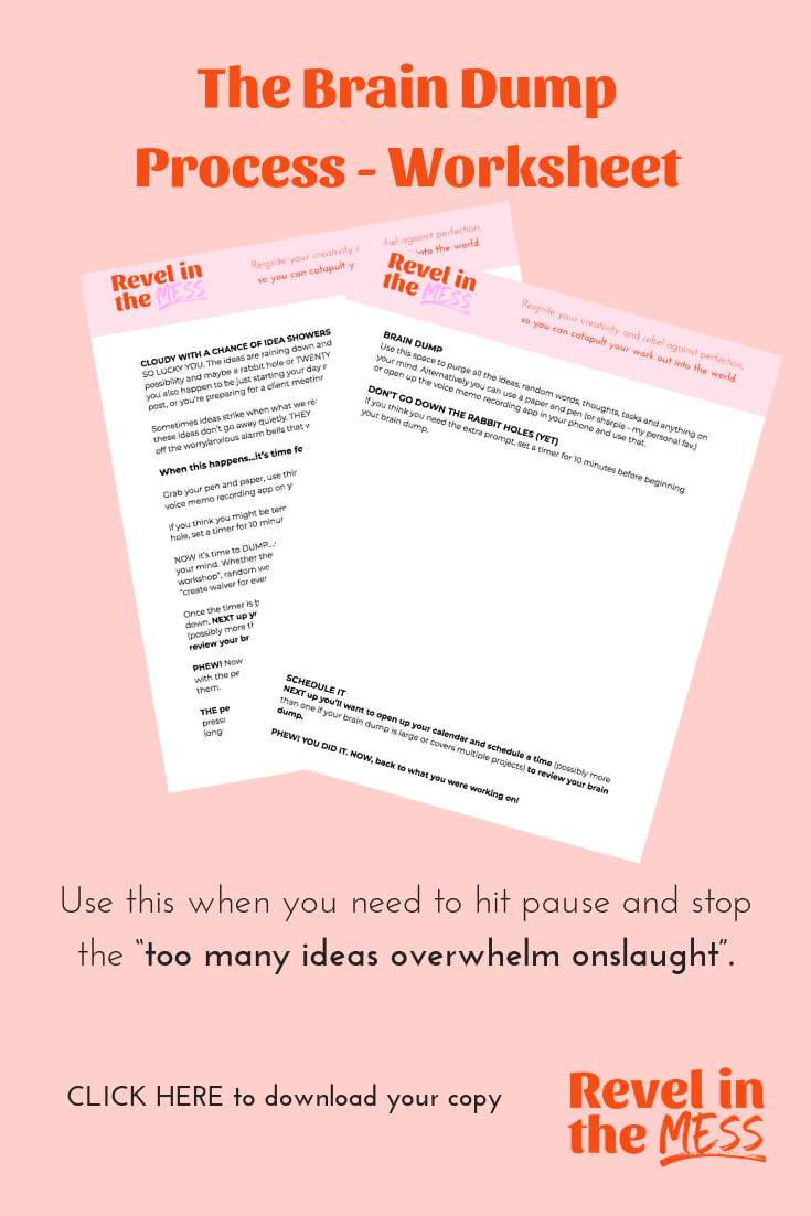 idea showers and the brain dump process how to avoid idea overwhelm as a creative entrepreneur.png