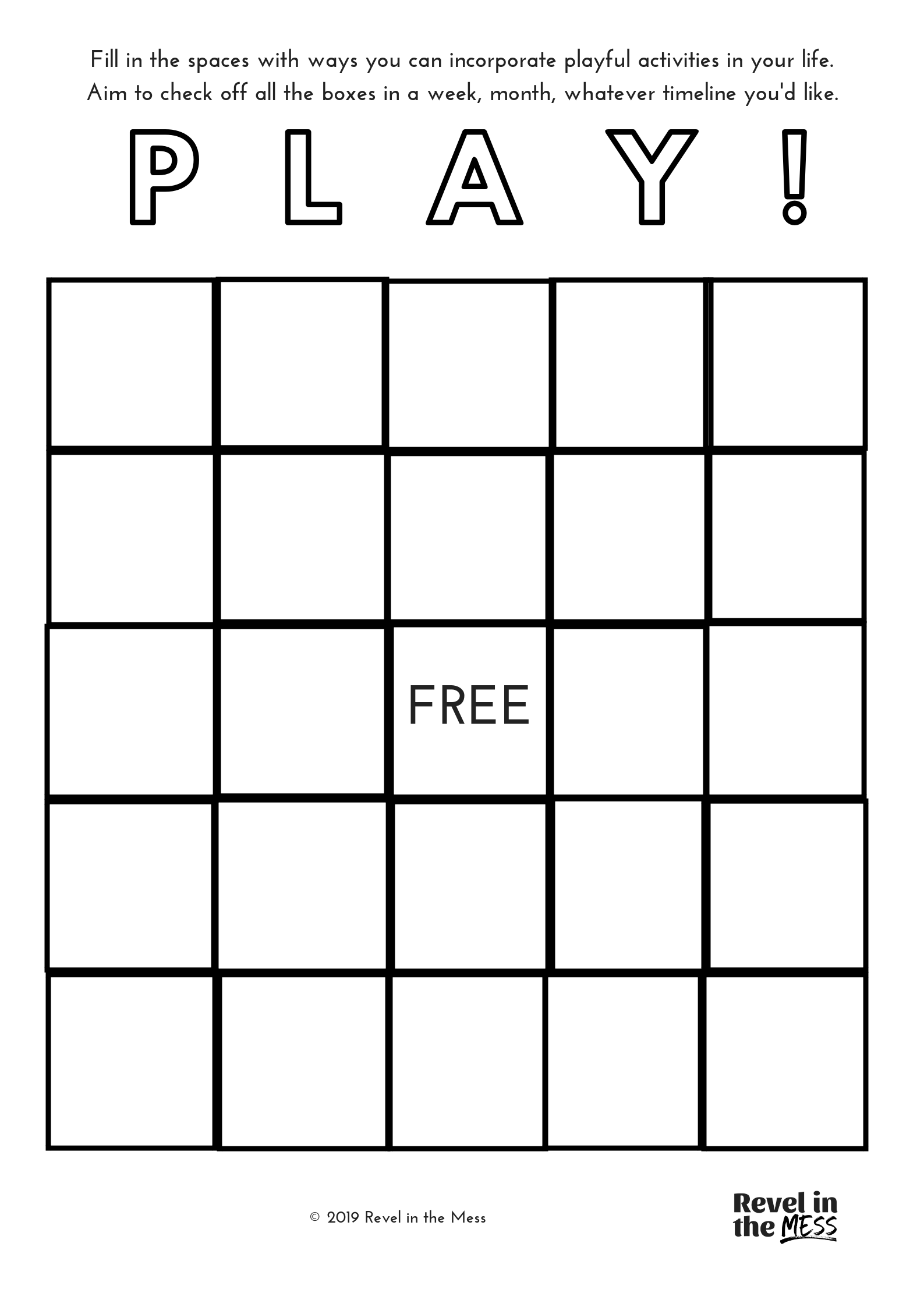 make your project or business a hotbed of play again play bingo card activity creativity tip.png