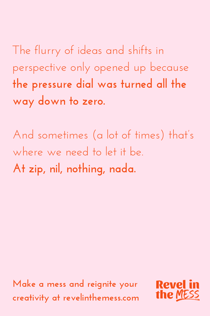Revel in the Mess how expectations block our creativity tools for living a creative life.png