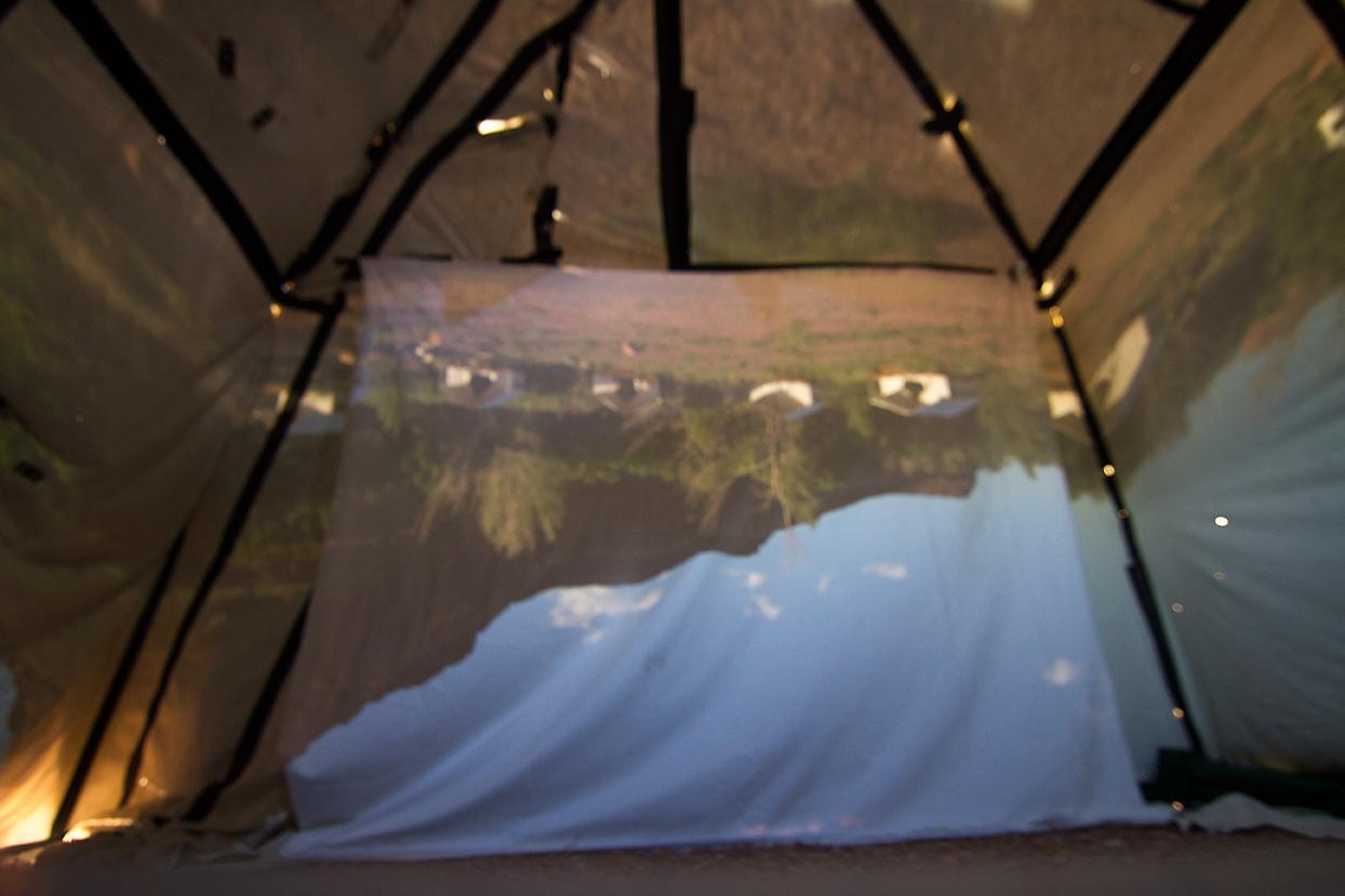 Portable Camera Obscura, Trudi Lynn Smith