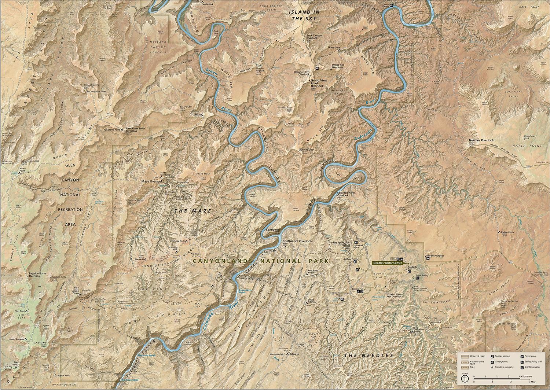 Source:National Park Maps