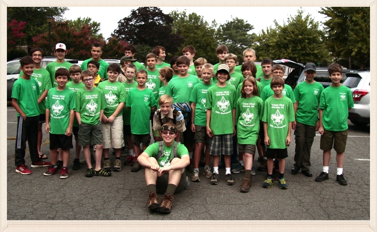 Scouts BSA Troop 1916 JournalNotes from Summer Camp 2014