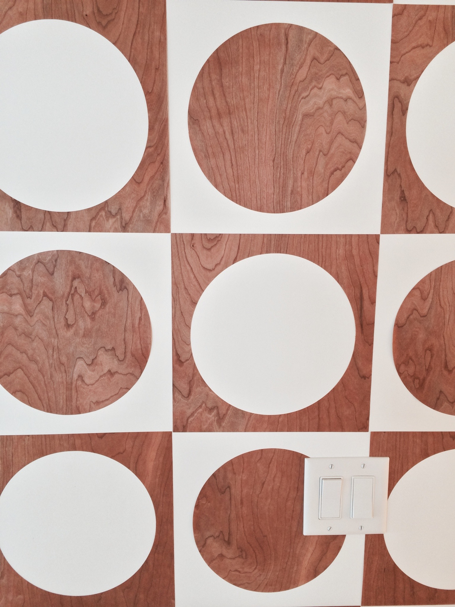 Cherry Wood Wall Decals