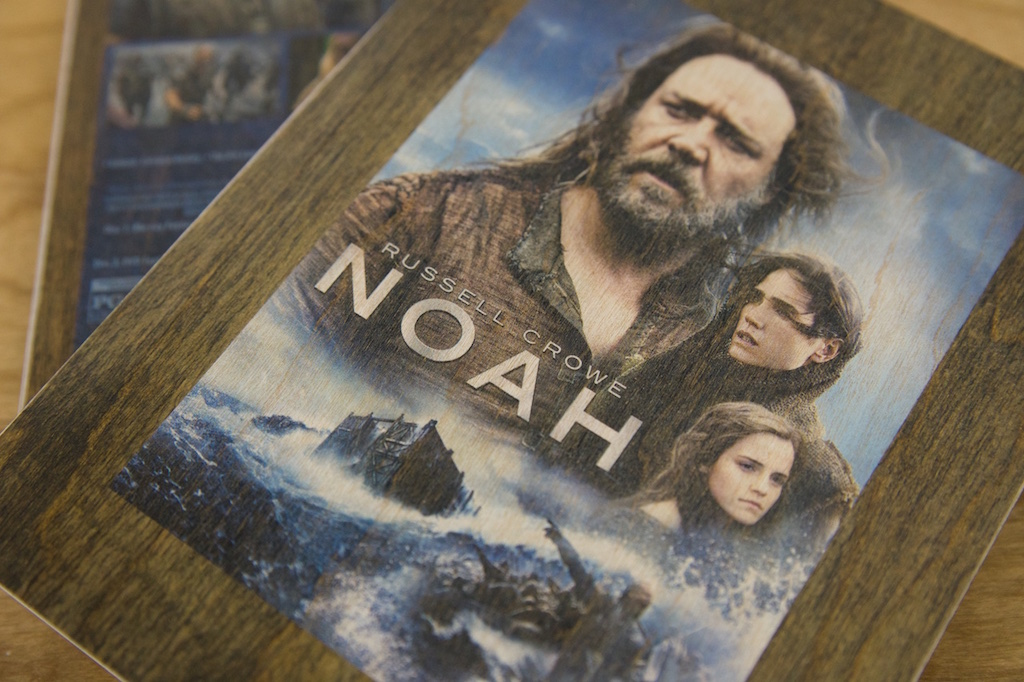 Birch Wood Noah DVD Sleeve