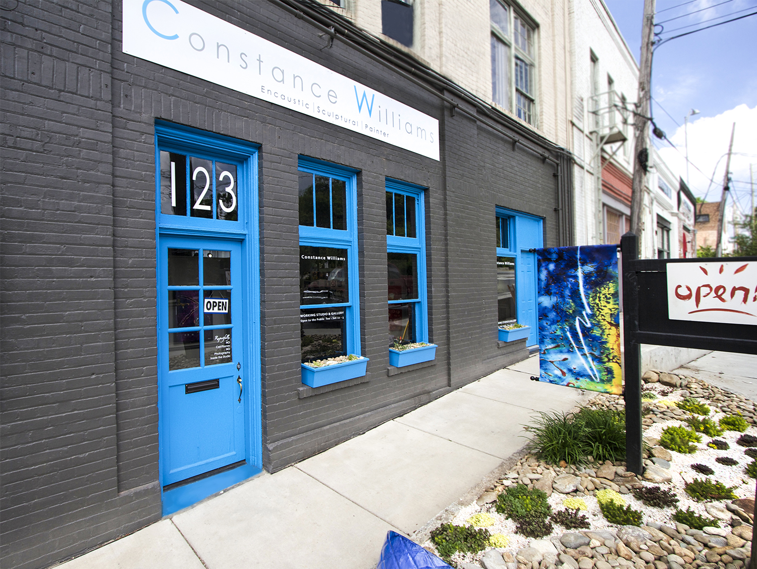 123 Roberts St • Asheville NC 28801 • Wedge Building