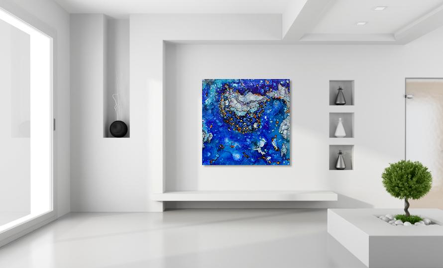Minimalist white room