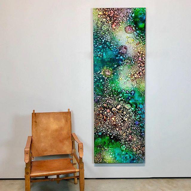 """Monet's Giverny Garden"" 24x78"