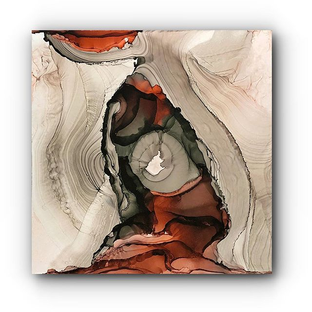 """""""Terra Geode""""  24x24 Simply exquisite!"""