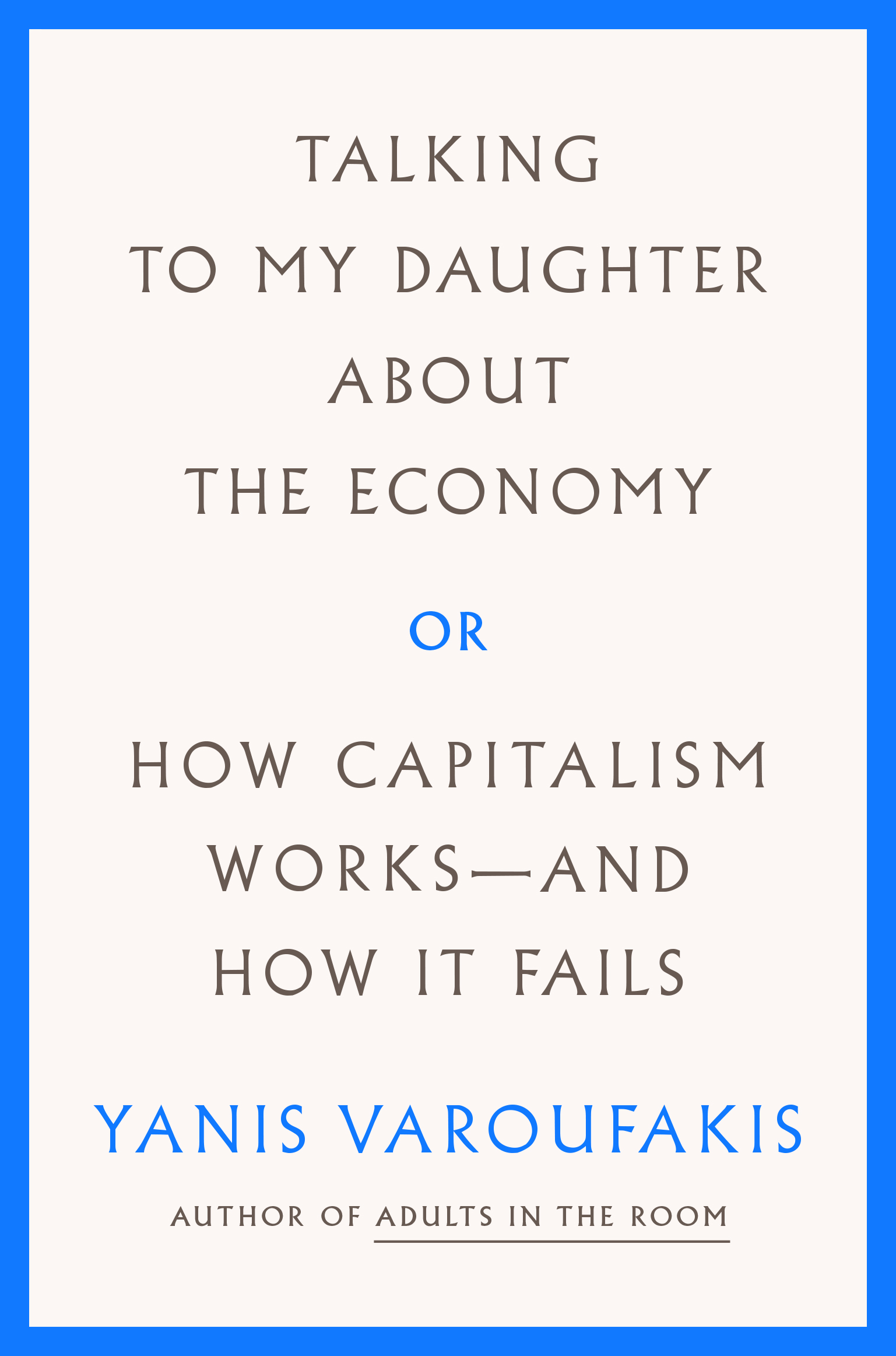 Talking to My Daughter About the Economy .JPG