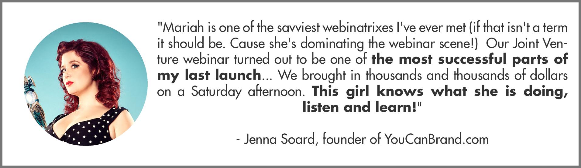 Profitable launch with webinars