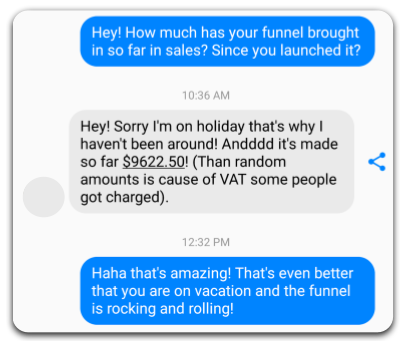 Make Funnel Sales on Holiday Passively