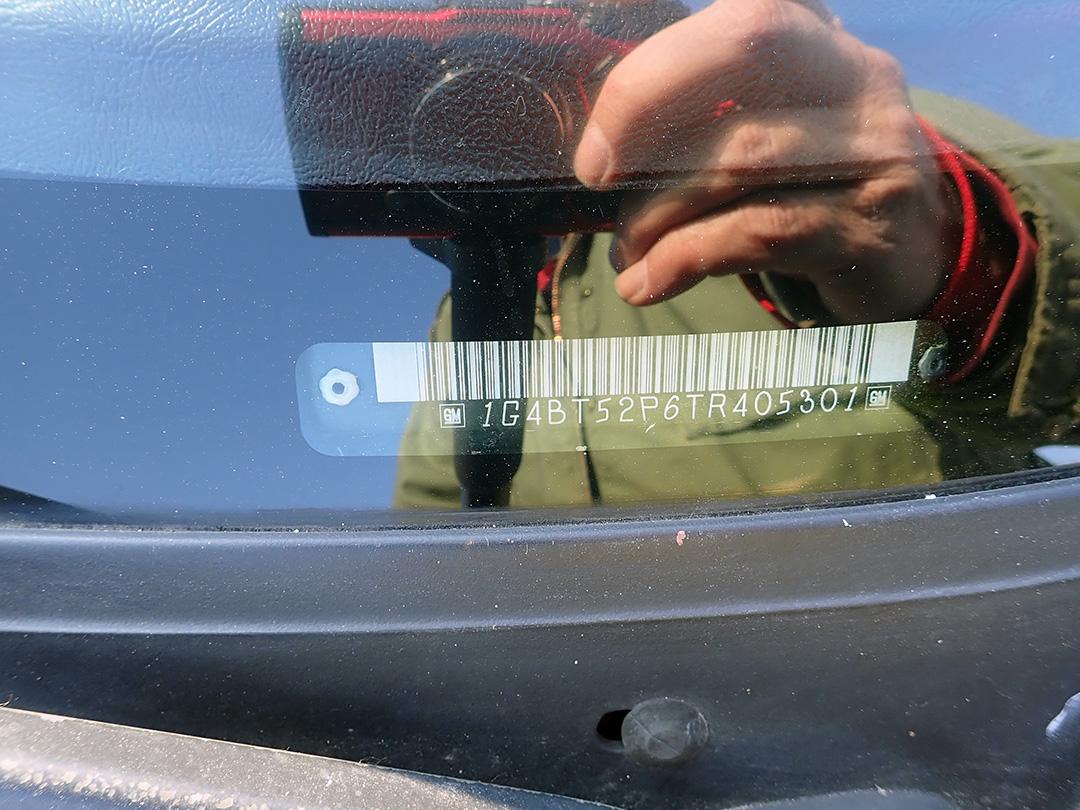 1996 Buick Roadmaster VIN SG.jpg