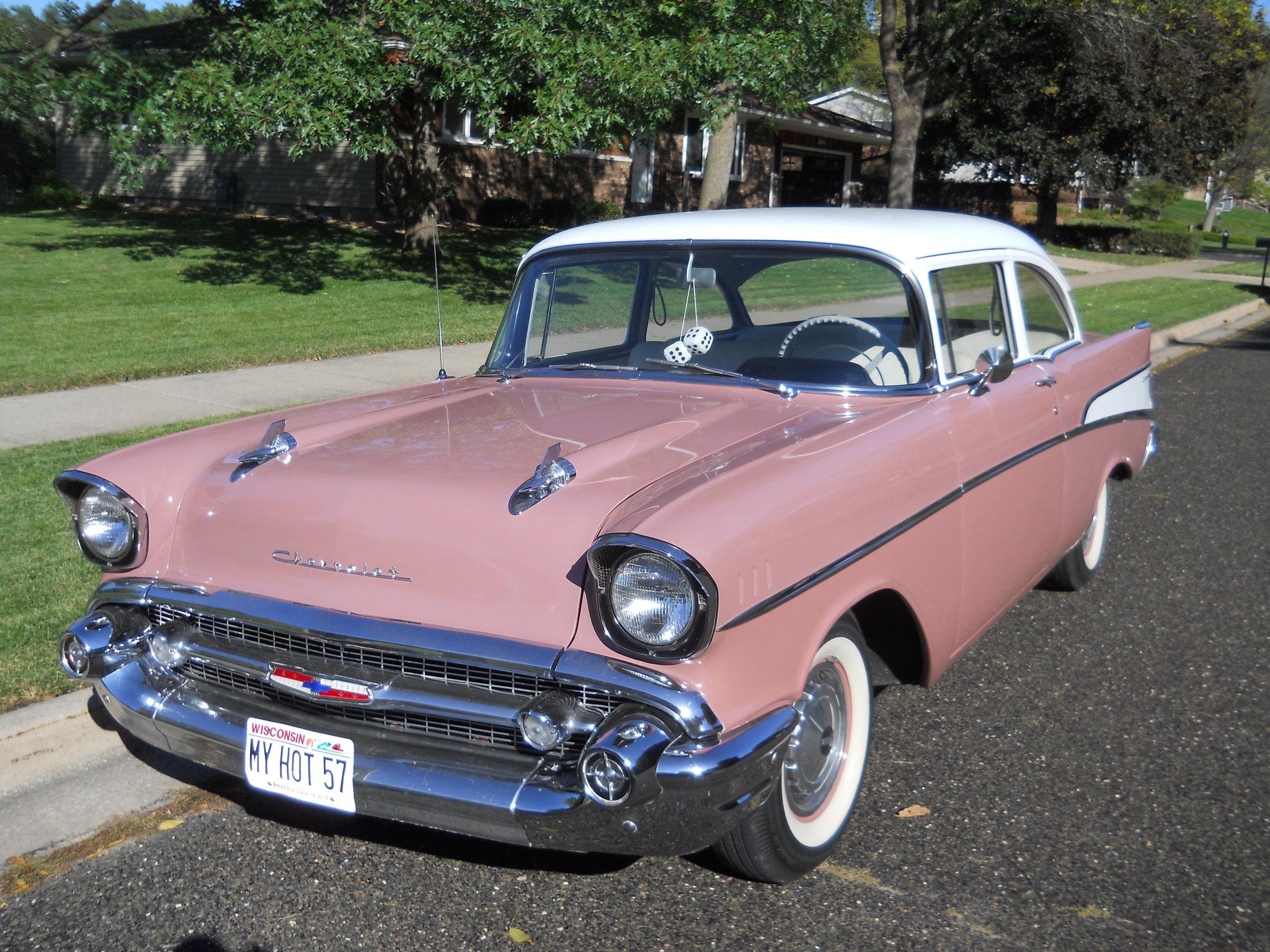 1 1957 Chevrolet 210 Beckman.JPG