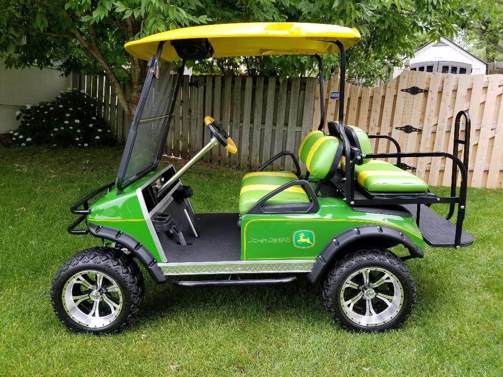 2000 Club Car Ds Gas Golf Cart Sg Auction
