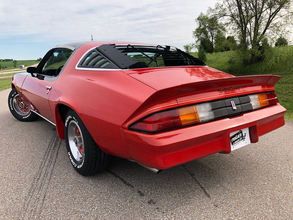 1978 Chevrolet Camaro LT Rally Sport Coupe — SG Auction