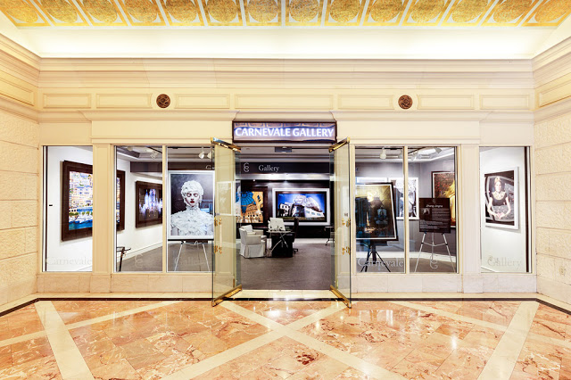 Motherland Chronicles on show at Carnevale Gallery in Caesar's Palace, Las Vegas
