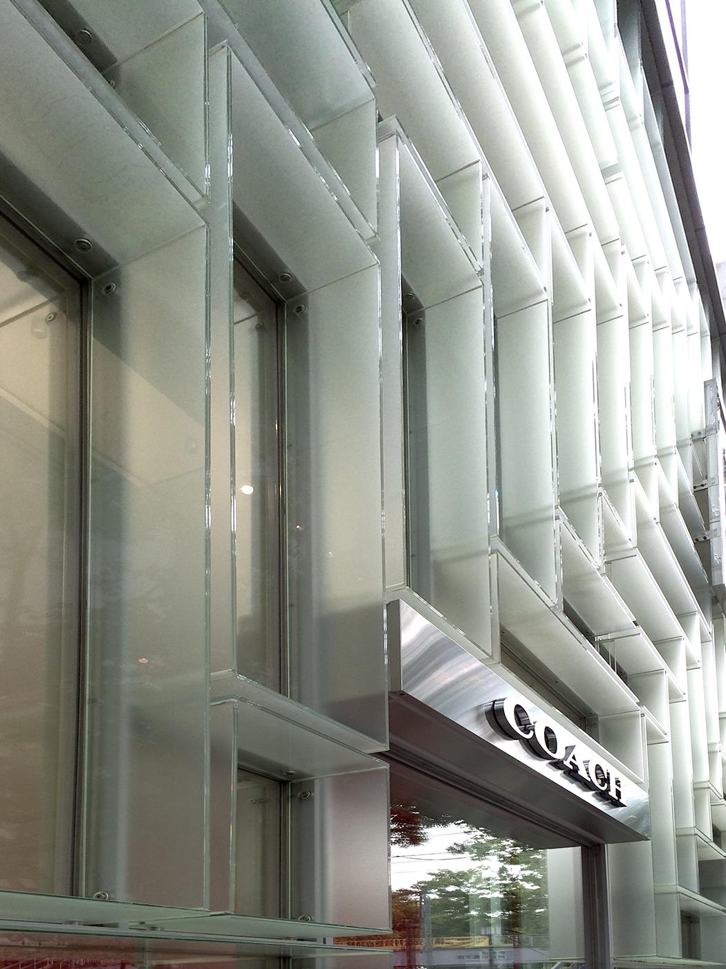 Coach Flagship Store facade - Tokyo, Japan