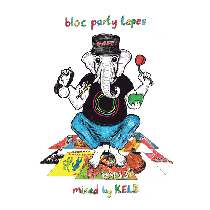 Cover Art for Bloc Party Tapes
