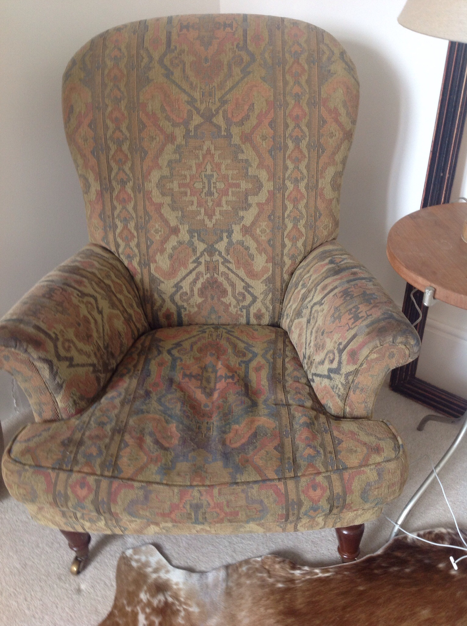 Chair in original state - £45 from ebay