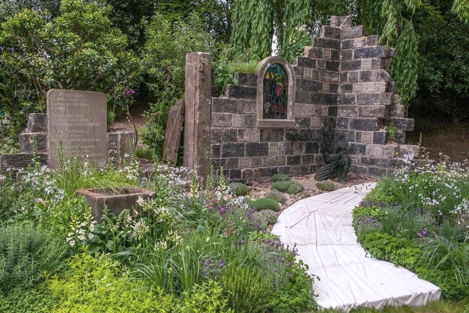 The Evaders' Garden - RHS Chelsea Flower Show 2015