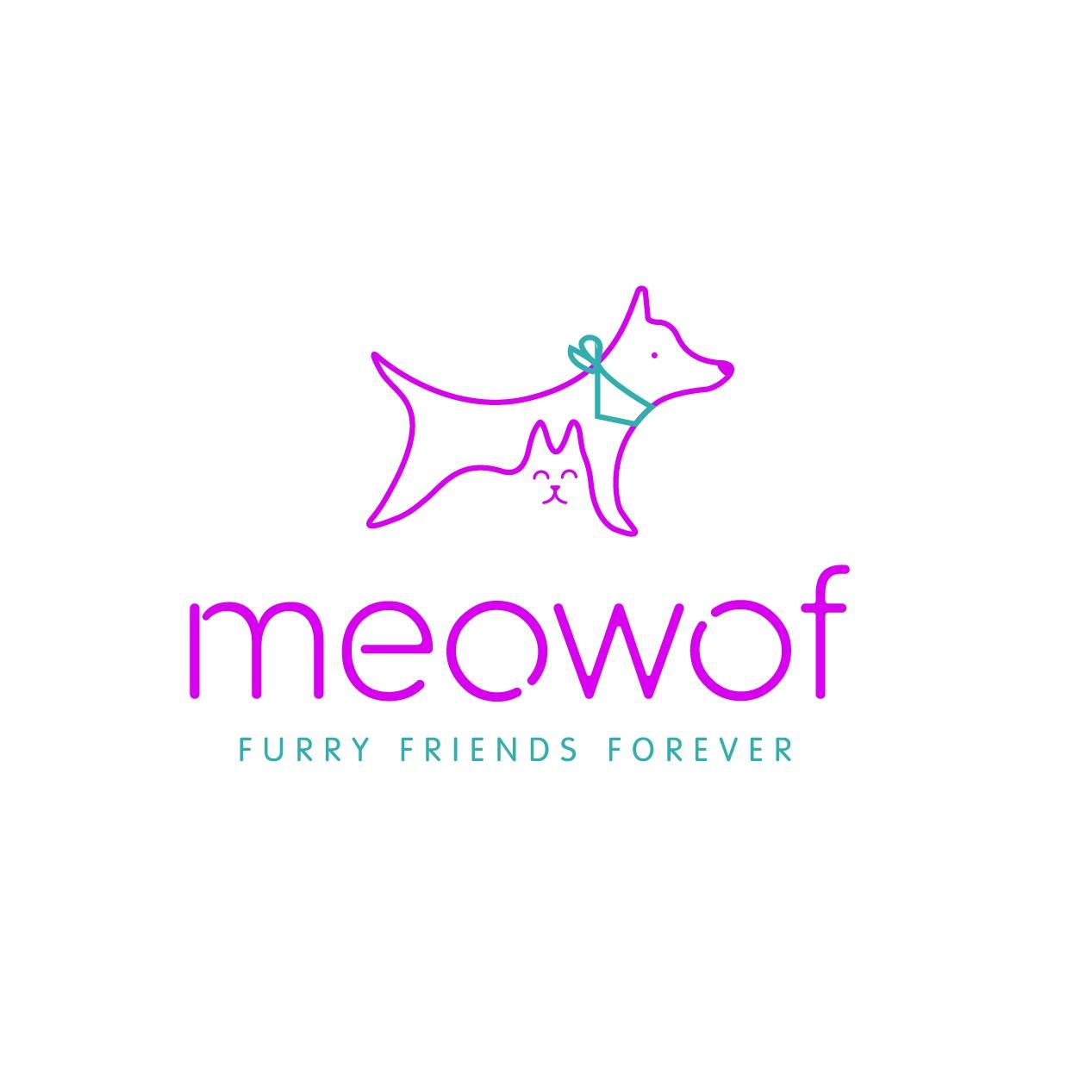 MEOWOF   brand identity