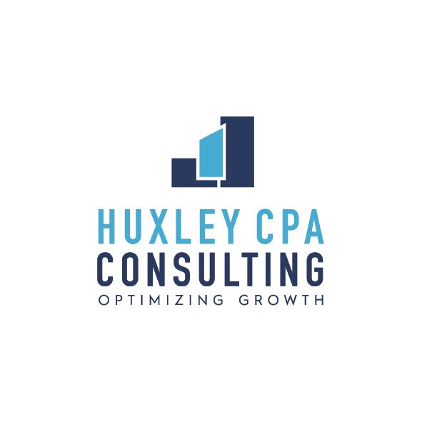 HUXLEY CPA   brand identity