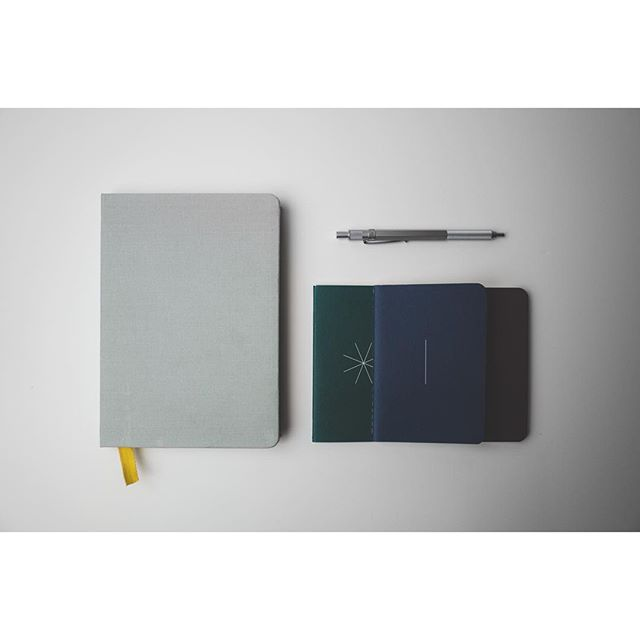 Just received these gorgeous notebooks from @baronfig. Beautifully made and supreme attention to detail.  #writing #journal #everydaycarry #notebook #pen