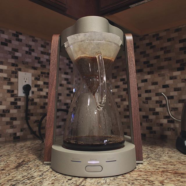One of the greatest gadgets I've ever owned. Well done, @ratiocoffee. A true work of art. #coffee #coffeemaker #madeinusa