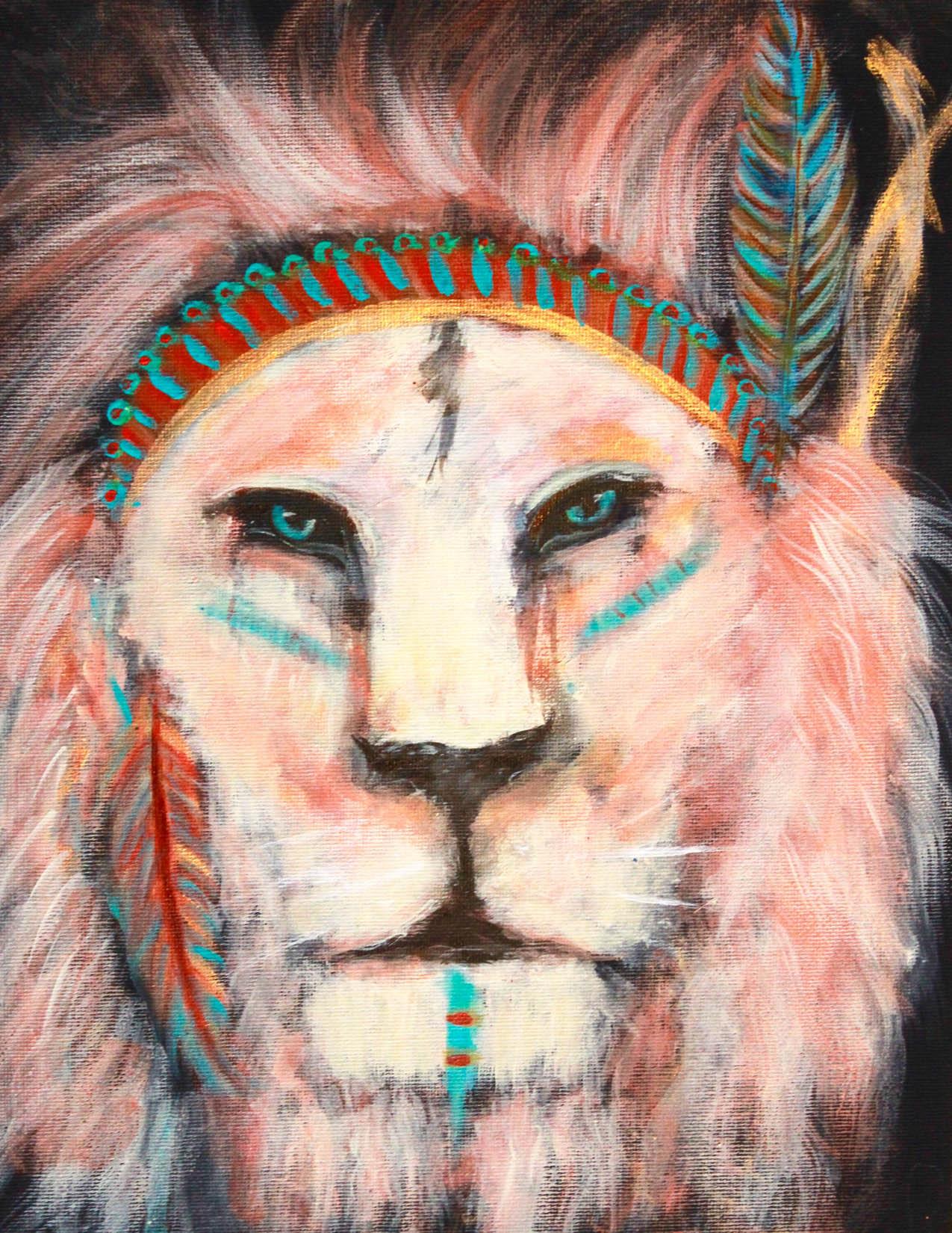 """""""Warrior King,"""" by Stephanie Gagos"""