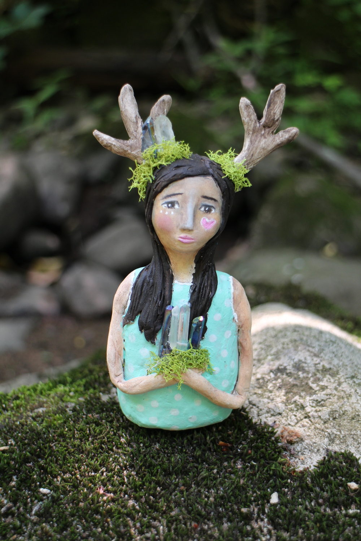 Art doll and photograph by Jennifer Albin