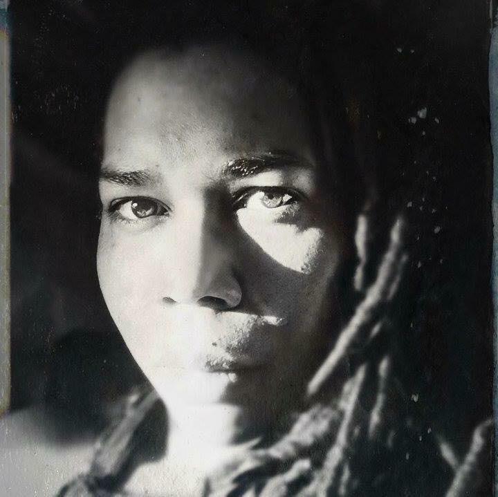 self-portrait by Sheree Angela Matthews